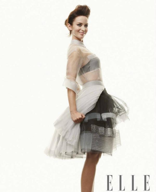"""Elle UK Emily Blunt 5 """"Elle Uk"""": Prolećno i romantično"""