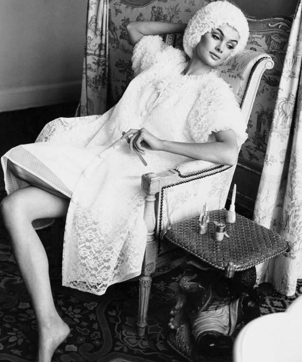 Jean Shrimpton. Photographed by Norman Parkinson 1963. Fotografija i moda: Dodir zlatnog Holivuda