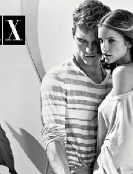 Armani Exchange: Moderni crno-beli par