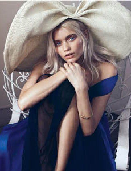 """Vogue China"": Abbey, romantika i cveće"