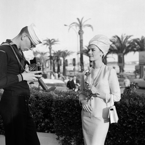 Natalie Wood at the Cannes Film Festival 1962. Fotografija i moda: Dodir zlatnog Holivuda