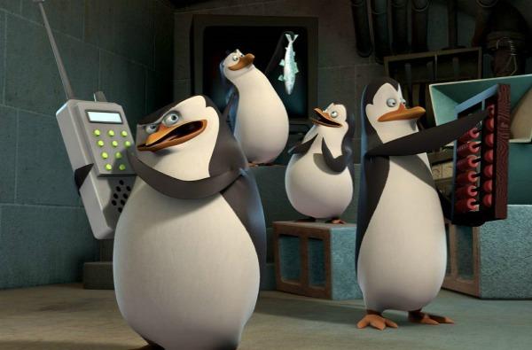 Slika 1 Pingvini Animirani petak: Pingvini sa Madagaskara
