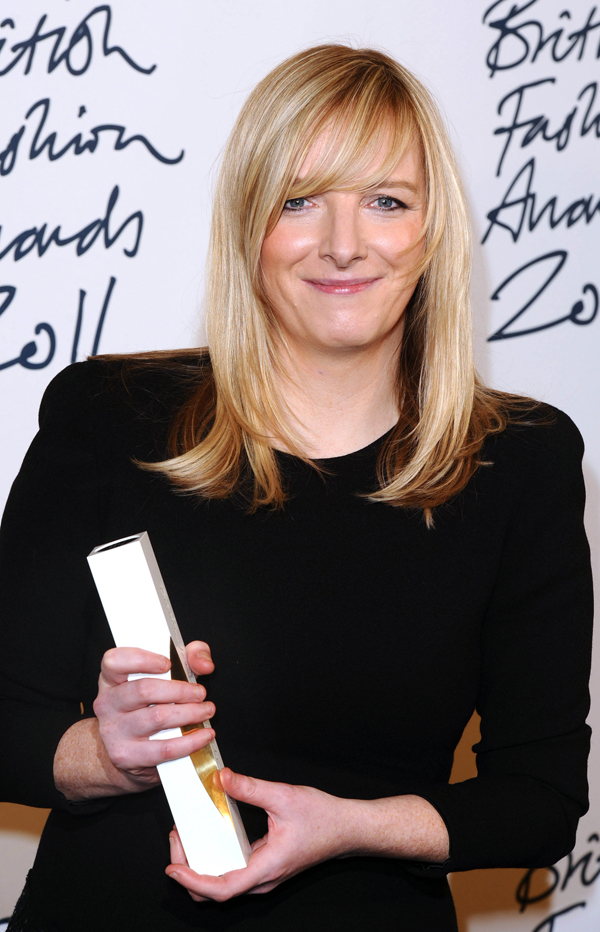 Slika 1 Sara Barton na dodeli Britanskih modnih nagrada Stil moćnih ljudi: Sarah Burton