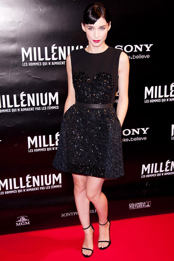 Slika 10 LV 10 odevnih kombinacija: Rooney Mara
