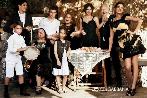 Slika 153 Dolce & Gabanna: Monica Bellucci i Sicilija