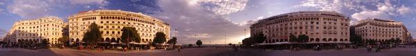 Slika 166 Trk na trg: Πλατεία Αριστοτέλους, Solun
