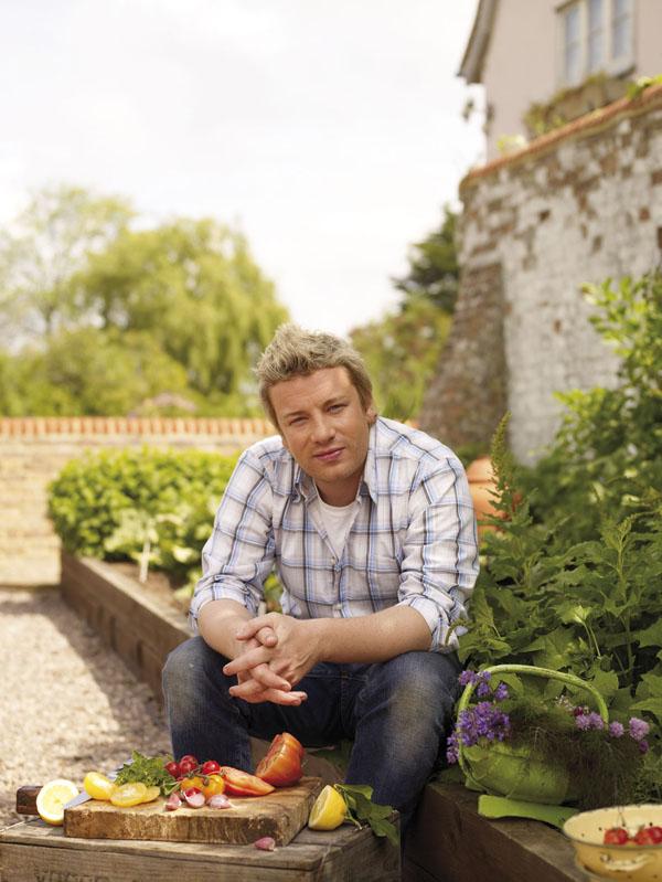 Slika 2 Dzejmijeva rajska basta Stil moćnih ljudi: Jamie Oliver