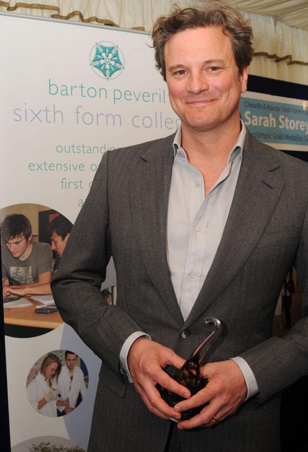 Slika 3 Aktivista i humanista isto koliko i glumac Stil moćnih ljudi: Colin Firth, Mr. Darcy na filmu i u životu