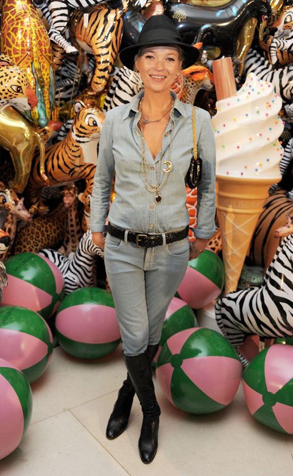 Slika 3 Mulberry Resort 10 odevnih kombinacija: Kate Moss