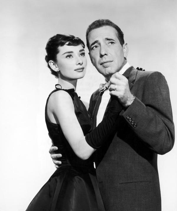 Slika 3 Odri Hepbern i Hemfri Bogart u filmu Sabrina Dan za podsećanje na Audrey Hepburn
