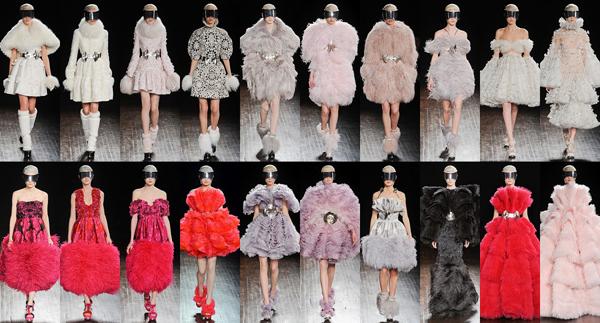Slika 3 Sarina kolekcija na pariskoj nedelji mode Stil moćnih ljudi: Sarah Burton