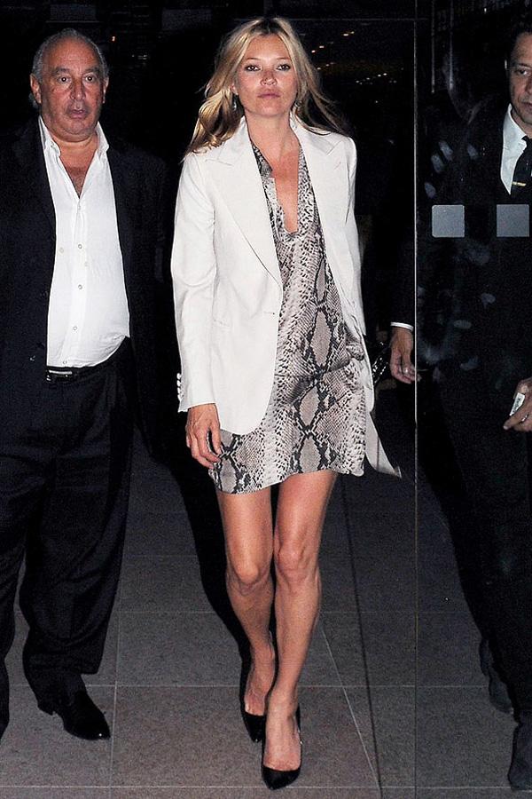 Slika 4 Lanvin  10 odevnih kombinacija: Kate Moss