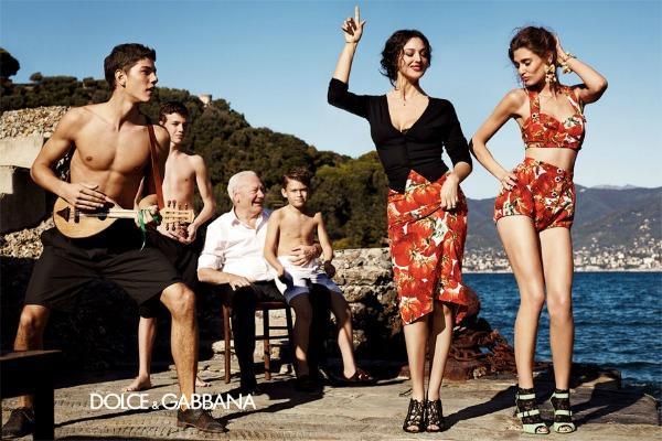 Slika 437 Dolce & Gabanna: Monica Bellucci i Sicilija