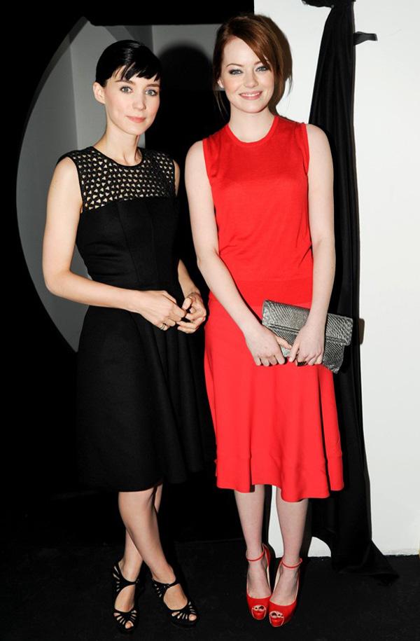 Slika 5 Calvin Klein 10 odevnih kombinacija: Rooney Mara