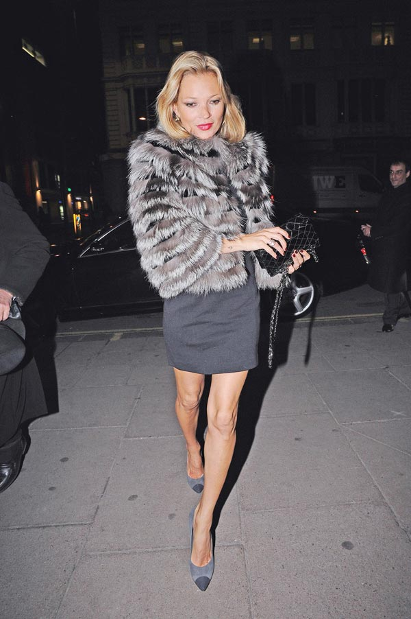 Slika 5 Ferragamo 10 odevnih kombinacija: Kate Moss