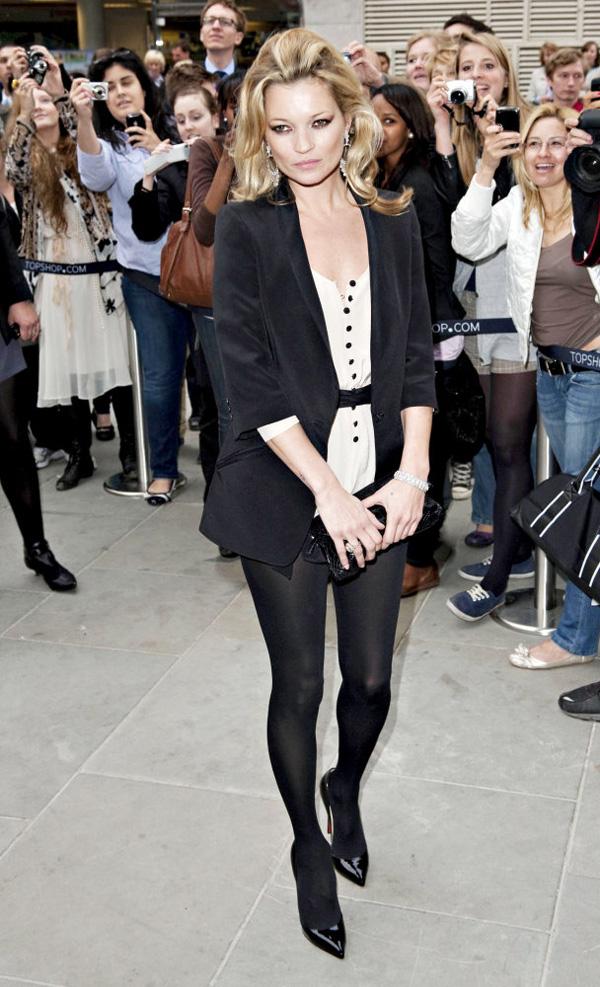 Slika 6 Topshop 10 odevnih kombinacija: Kate Moss