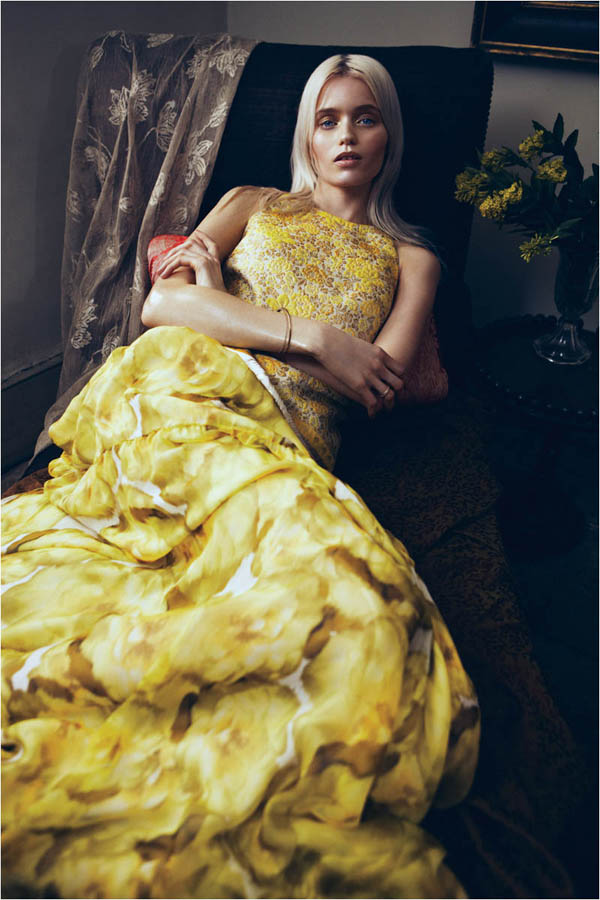 Slika 68 Vogue China: Abbey, romantika i cveće