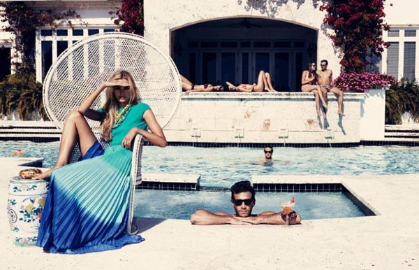 Slika 816 Velvet: Trendi zabava pored bazena
