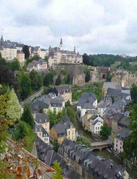 Putnica foteljašica u Luksemburgu