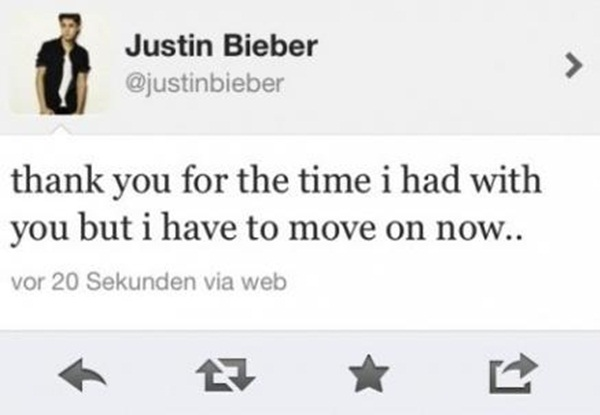 Slika133 Trach Up: Justin Bieber šutnuo devojku svog života?