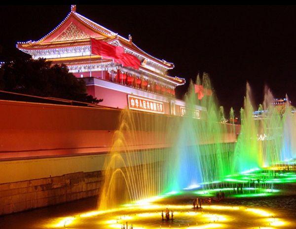 Slika144 Trk na trg: 天安門廣場, Peking