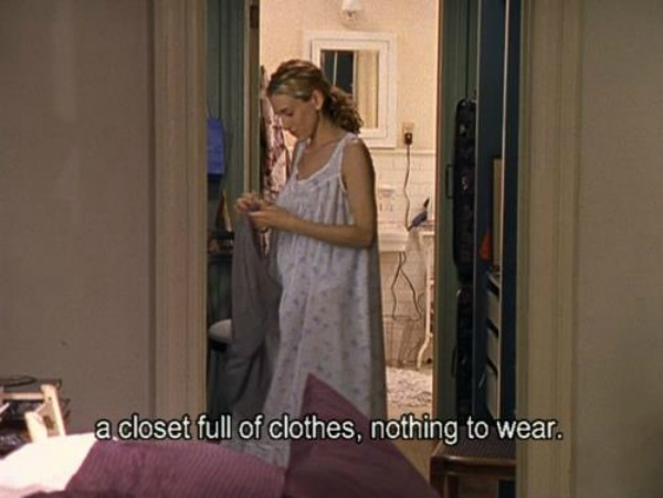 fotka 1 Pun mi ormar, a nemam ništa da obučem