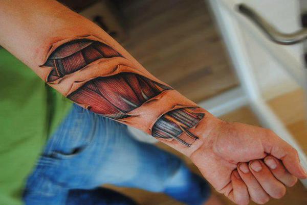 foto 3 Kreativne tetovaže: Mala umetnička dela