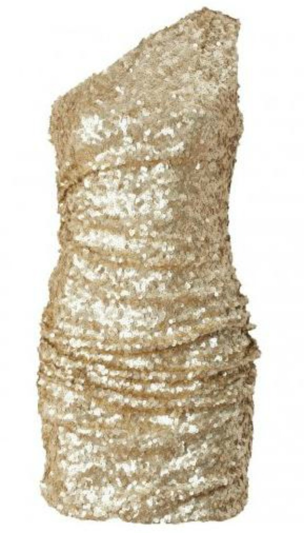 gold sequin dress 1 Stil dana: Lauren Conrad