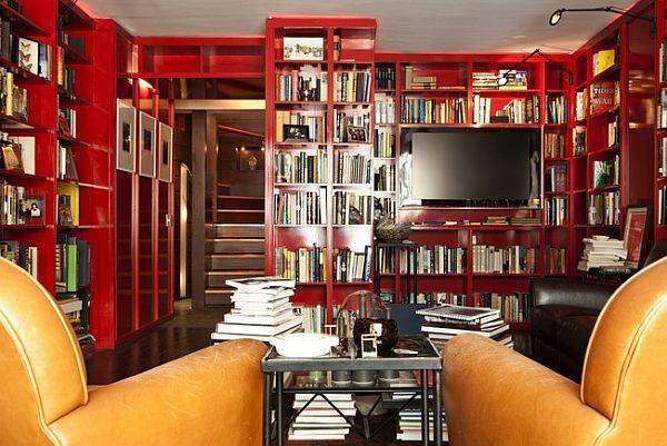 home built from books10 Kuća sa 10,000 knjiga u Njujorku