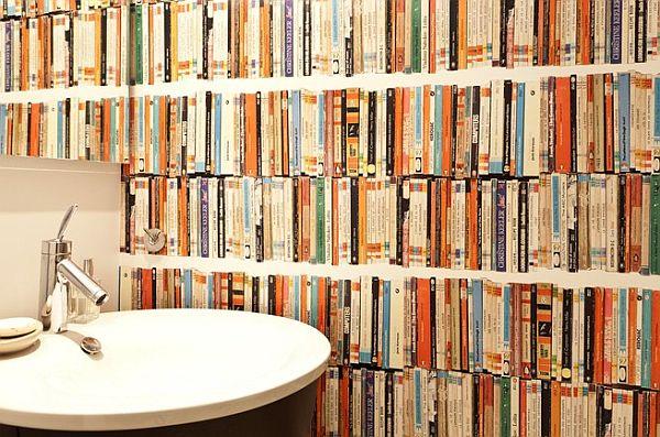 home built from books11 Kuća sa 10,000 knjiga u Njujorku
