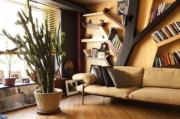 home built from books8 Kuća sa 10,000 knjiga u Njujorku