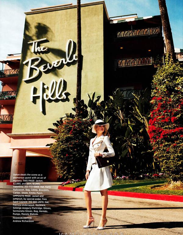 kate upton bazaar 1 Harper's Bazaar US: Uvek i svuda sa stilom