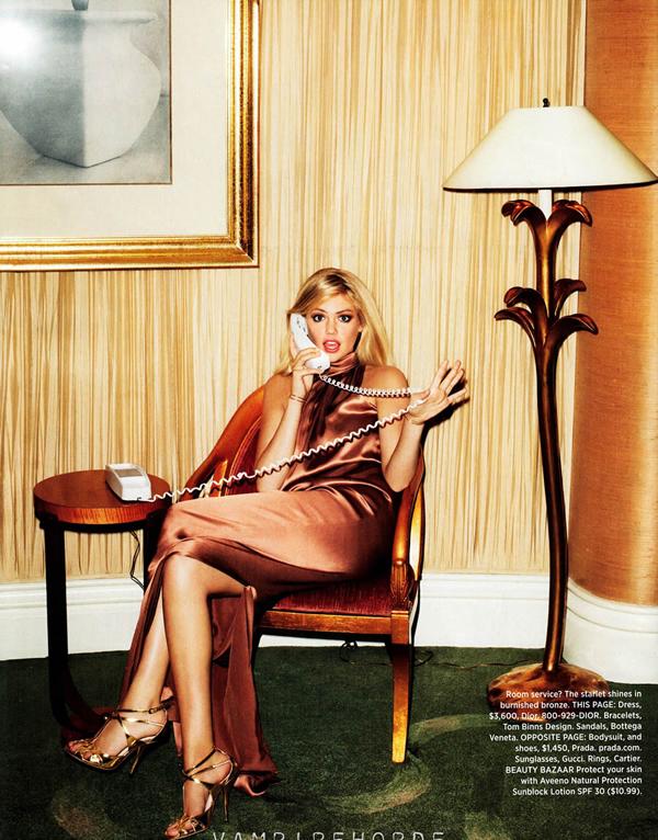 kate upton bazaar 2 Harper's Bazaar US: Uvek i svuda sa stilom