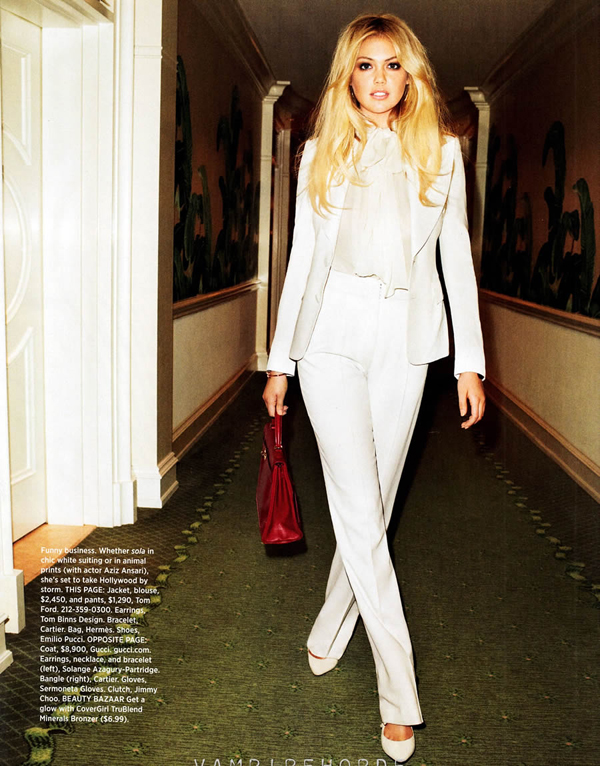 kate upton bazaar 5 Harper's Bazaar US: Uvek i svuda sa stilom