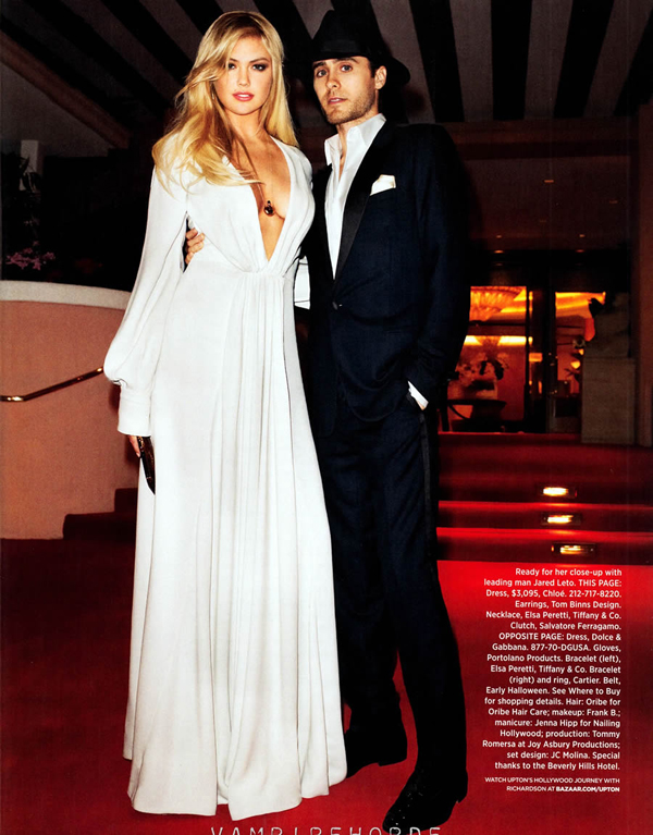 kate upton bazaar 9 Harper's Bazaar US: Uvek i svuda sa stilom