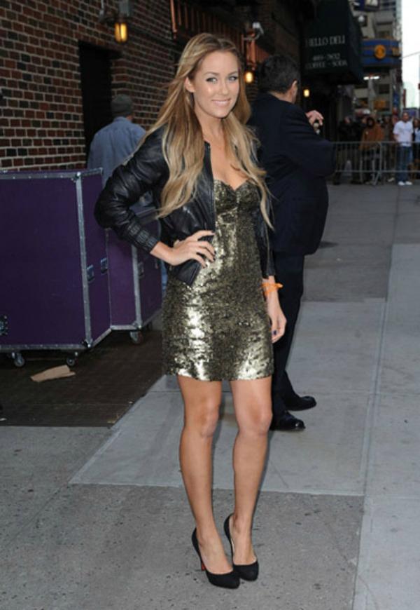 lauren conrad in new york for letterman show2 Stil dana: Lauren Conrad
