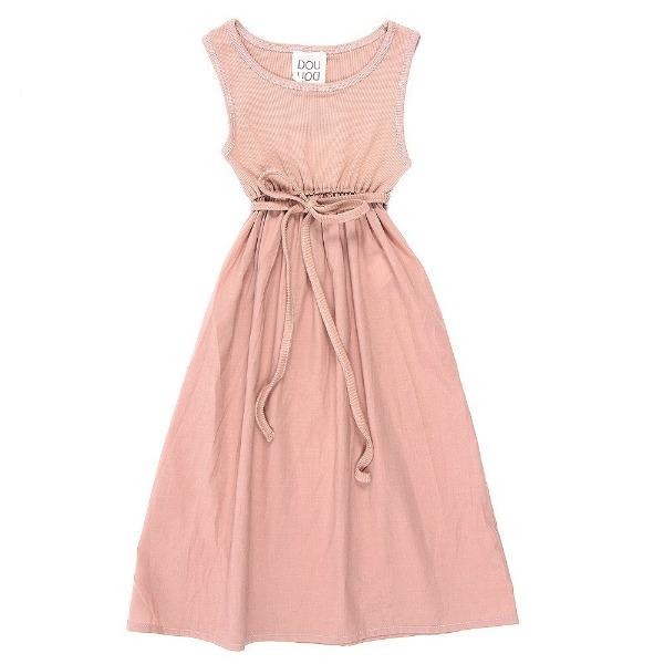 marta dress beige Stil dana: Rachel Bilson