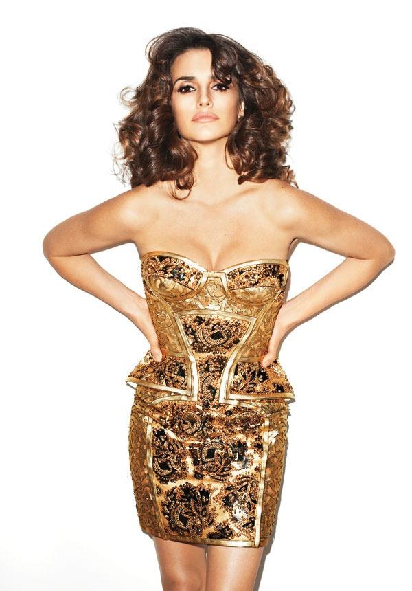 "penelope cruz terry richardson harpers bazaar us may 2012 4 ""Harper's Bazaar US"": Zlatna španska ruža"