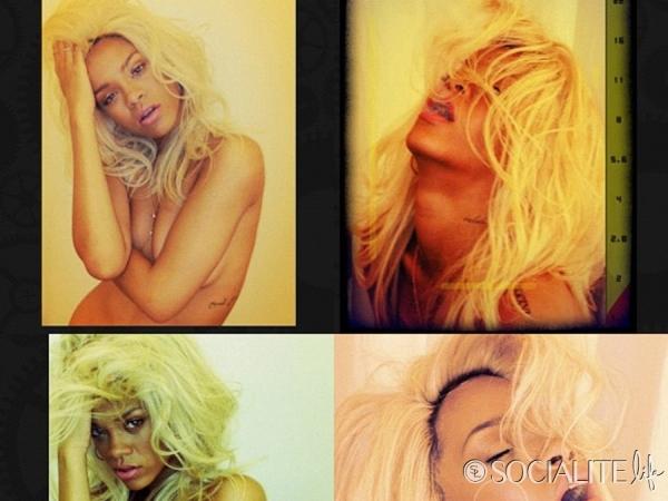 riri05 Trach Up: Rihanna opet gola