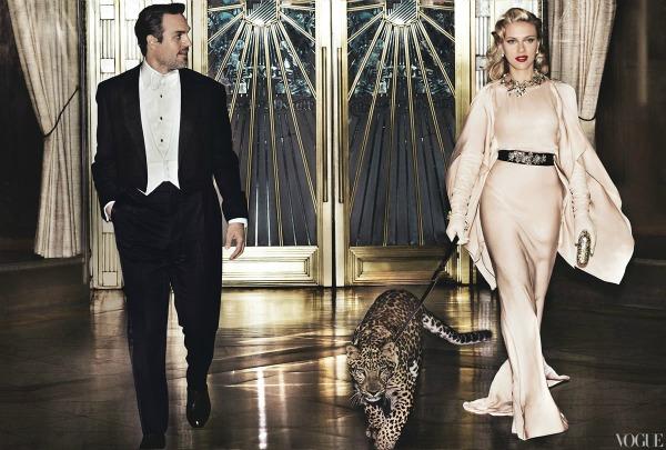 "scarlett johansson vogue 1 ""Vogue US"": Scarlett poput Grace Kelly"