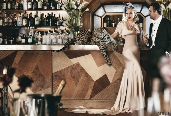"scarlett johansson vogue 3 ""Vogue US"": Scarlett poput Grace Kelly"