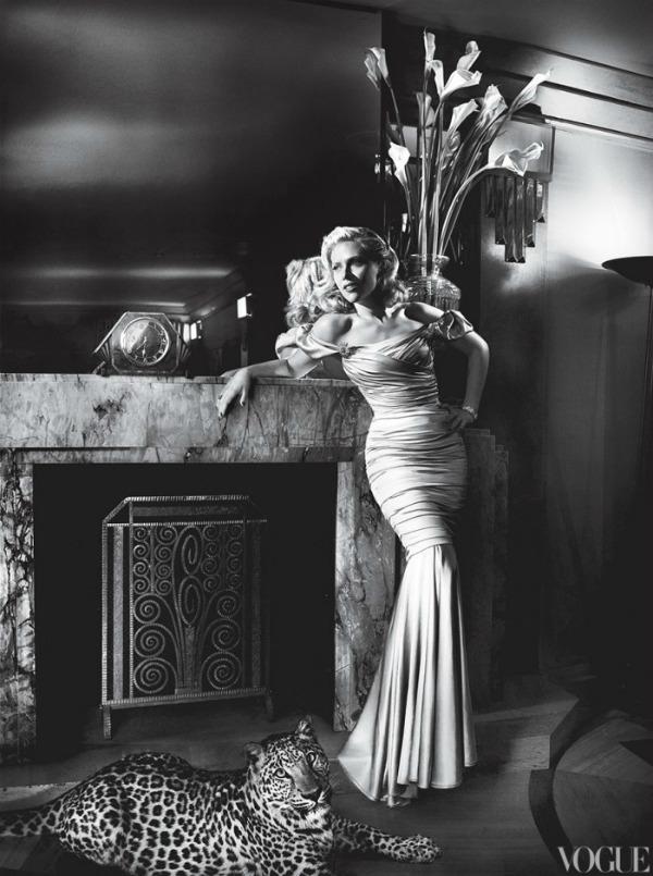 "scarlett johansson vogue 4 ""Vogue US"": Scarlett poput Grace Kelly"