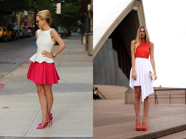 slika 327 Modni blogovi: Maturske odevne kombinacije u bojama leta