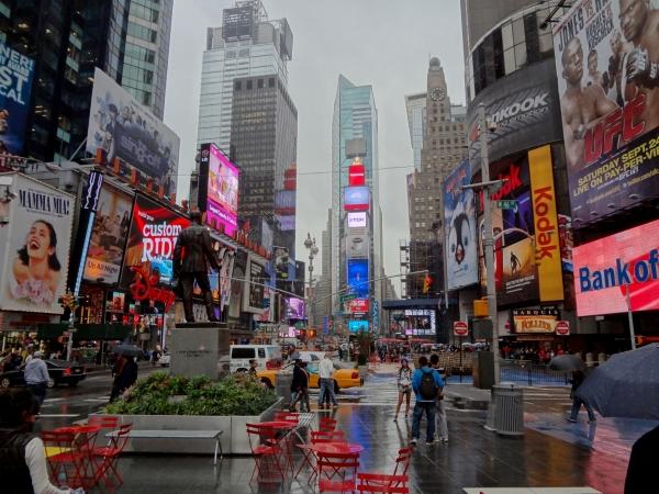 slika 420 Trk na trg: Times Square, Njujork