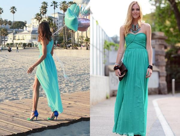 slika 427 Modni blogovi: Maturske odevne kombinacije u bojama leta