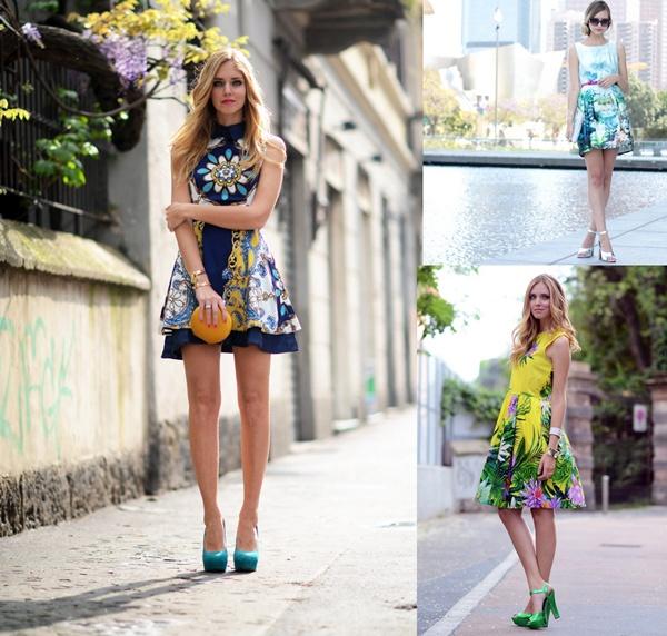 slika 713 Modni blogovi: Maturske odevne kombinacije u bojama leta