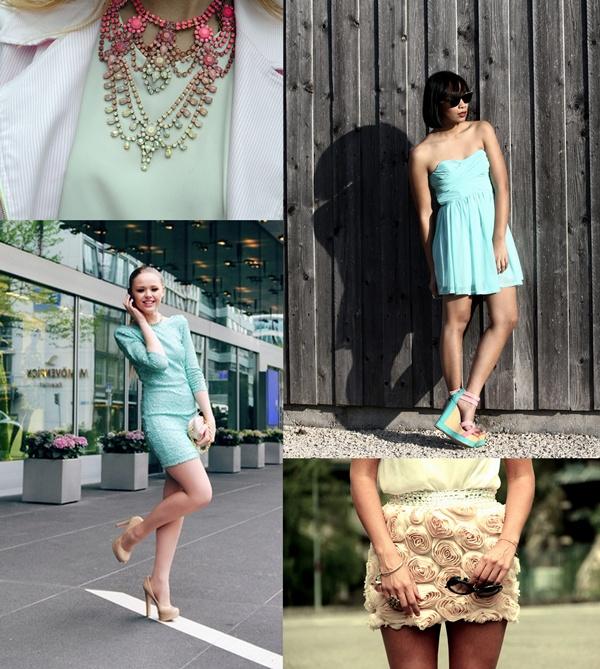 slika 814 Modni blogovi: Maturske odevne kombinacije u bojama leta