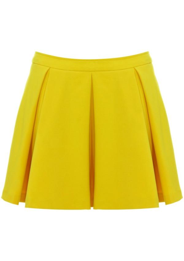 yellow skirt topshop c2a336 Stil dana: Kim Kardashian
