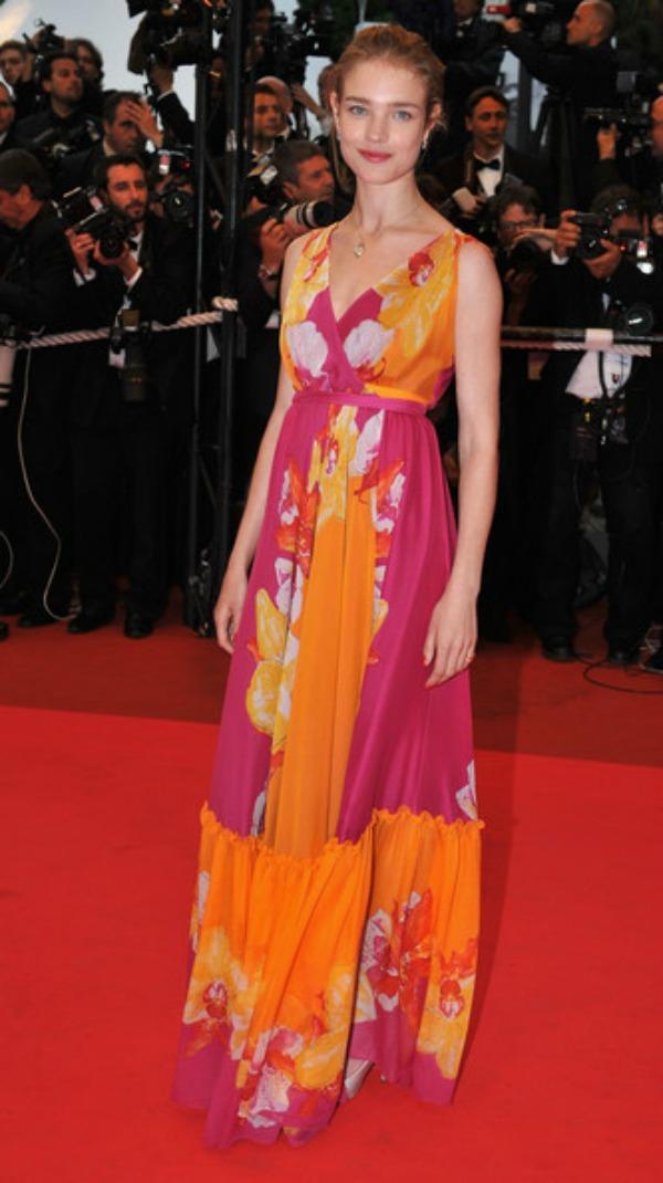10.Natalia Vodianova Maksi haljine: Omiljeni komad za leto