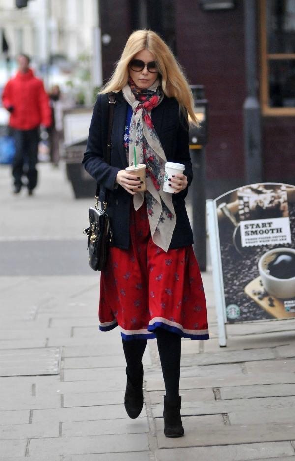 10 Street Style: Claudia Schiffer